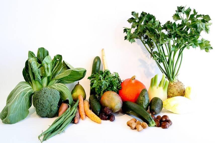 plant based menu items