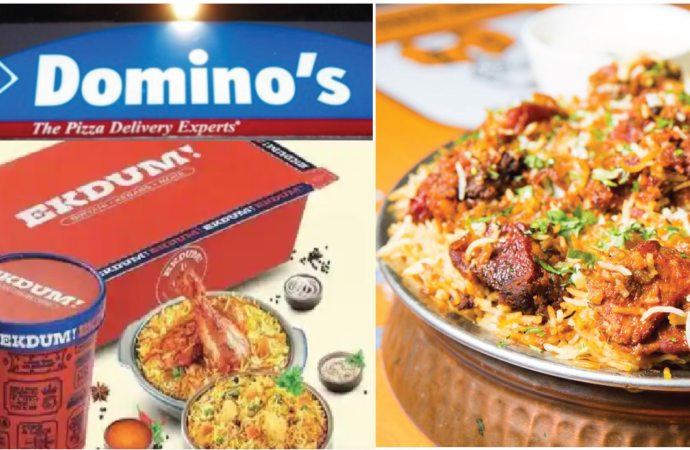 Domino's Pizza entered into Biryani segment with brand 'Ekdum!