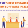 List of 5 Best CRM for Restaurants in 2021 (Helpful in Customer Retention & Business Growth)
